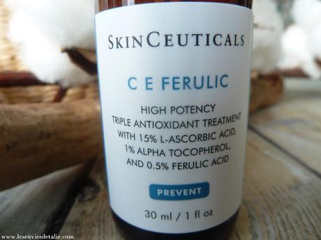 Mon avis sur le Sérum antioxydant CE Ferulic de Skin Ceuticals