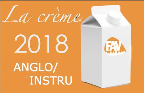 TOP 2018 ANGLO/INSTRU positions 20 à 11