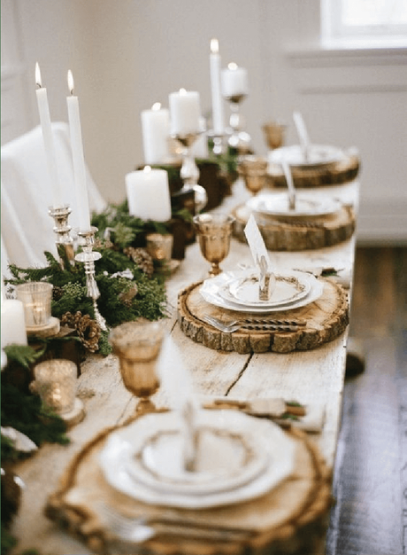 5 idées toutes simples pour sublimer sa table de Noël sur www.decocrush.fr - @decocrush