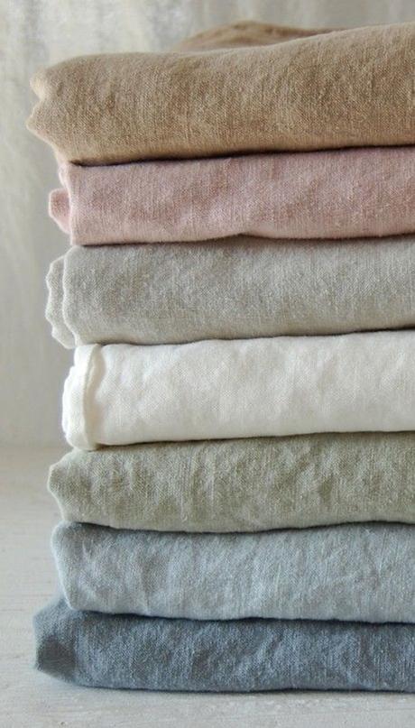 linge de lit en chanvre textile couleurs nuances tissu blog déco clem around the corner