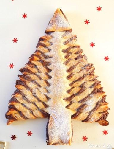 Sapin de Noël au Nutella