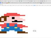 Libre Office Calc Pixel