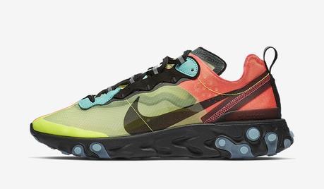 Nike présente deux nouveaux coloris de la React Element 87