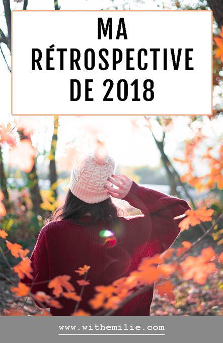 Ma Rétrospective de 2018