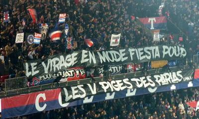 PSG vs Nantes : les ultras allument le Parc pour les Parias Cohortis