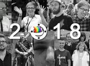 RETRO 2018 année LGBT Normandie