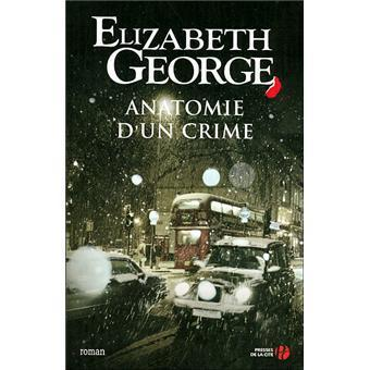 Chronique de lecture : Anatomie d'un crime d'Elizabeth George