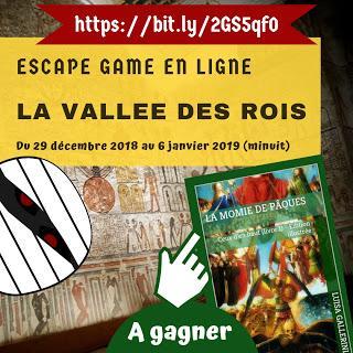 L'escape game de la Vallée des rois