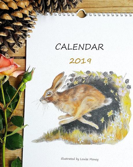calendrier 2019 original fait main enfant blog déco clem around the corner