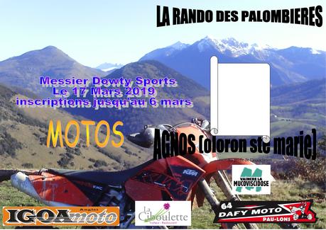6 ème Rando des Palombières le 17 mars 2019, du Centre Sociaux Culturel Messier Dowty (64)