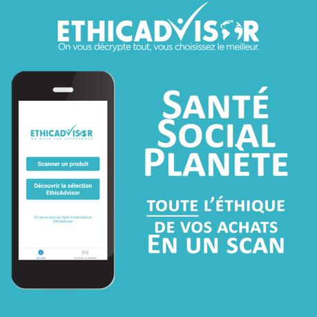 Consommons Ethique avec l'Application EthicAdvisor