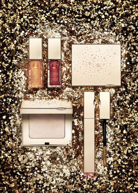 La collection maquillage de Noël Prête-à-Briller Clarins