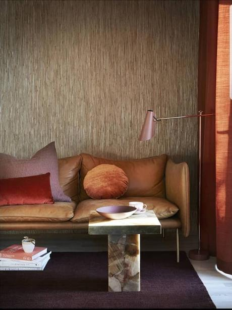 couleur de l'année 2019 intérieur salon décoration terracotta originale blog déco clem around the corner