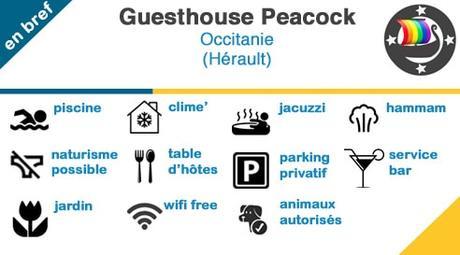Guesthouse Peacock (Grau d'Agde) – Chambres d'hôtes gay