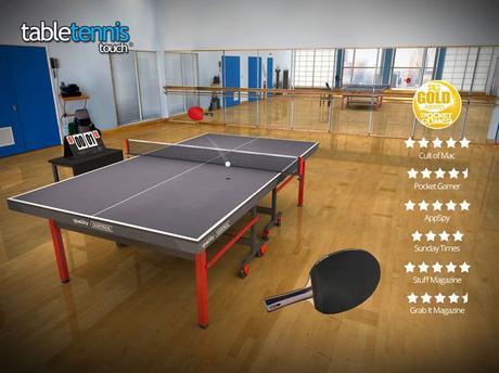 Jeu du jour : Table Tennis Touch (iPhone & iPad – gratuit)