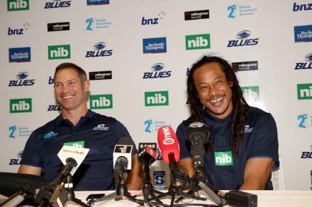 Nouveaux coachs, nouvelle époque : Leon Macdonald et Tana Umaga.
