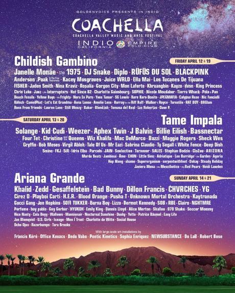 Le festival Coachella révèle sa programmation de 2019
