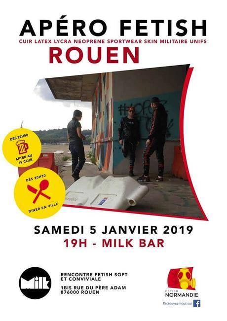 "ROUEN – ""Apéro Fetish #22"" – samedi 5 janvier 2019"