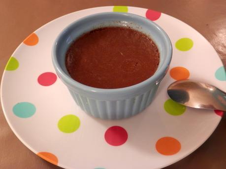 Crème aux oeufs au chocolat ou oeufs au lait au chocolat