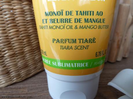 Crème onctueuse au Monoï de Tahiti Hei Poa