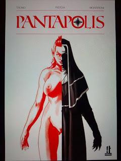 PANTAPOLIS : LES GRANDS DEBUTS DE IT COMICS EN FRANCE AVEC WALTER TRONO