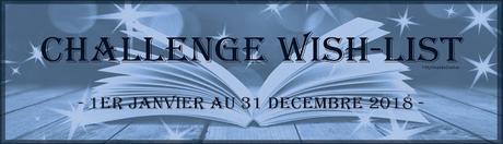 #1 Challenge Wish-list 2018Bilan