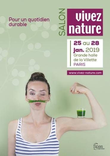 Vivez Nature : un salon bio et bien-être à Paris du 25 au 28 janvier