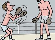 Macron boxe