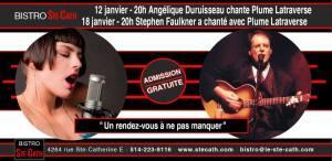 Plume Latraverse par Angélique Duruisseau et Stephen Faulkner