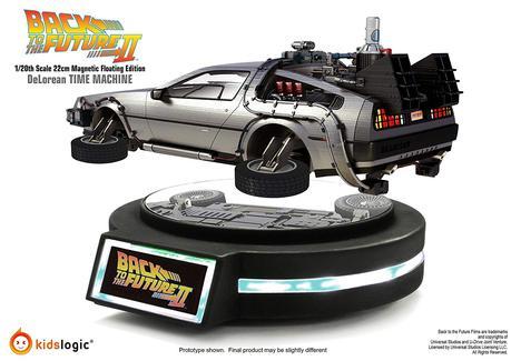 Une DeLorean en lévitation magnétique