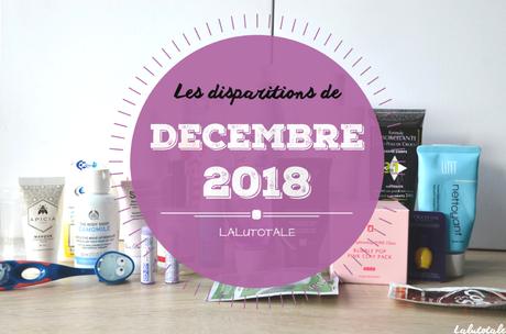 ✞ Les disparitions de Décembre 2018 ✞