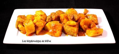 Curry de porc aux 2 pommes