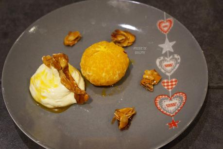 Clémentines rôties safran et miel