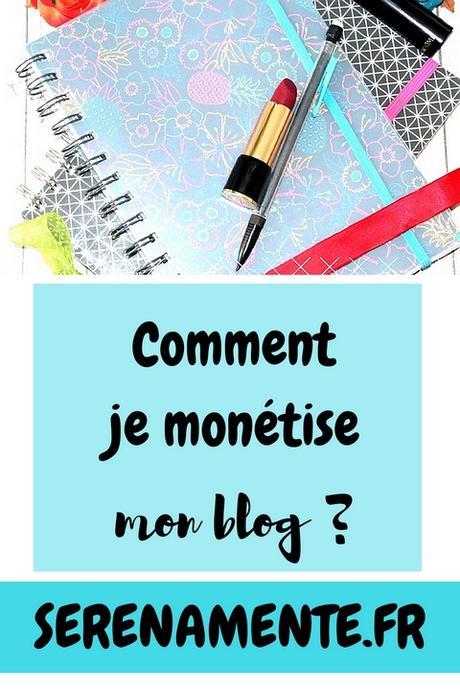 Comment je monétise mon blog ? Je réponds à vos questions !