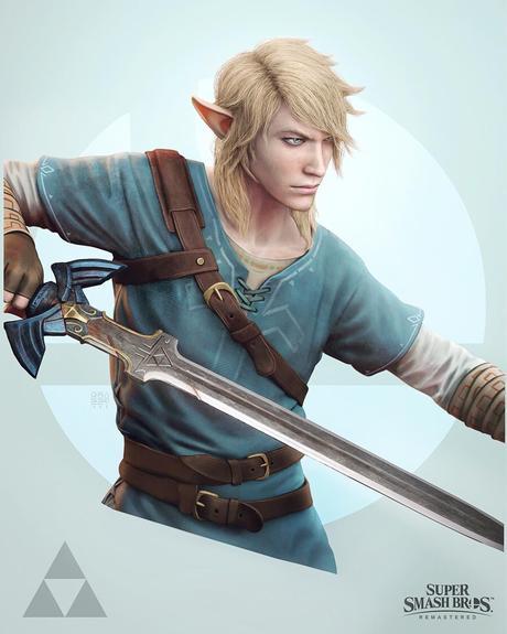 Il crée des versions réalistes des persos de Smash Bros.