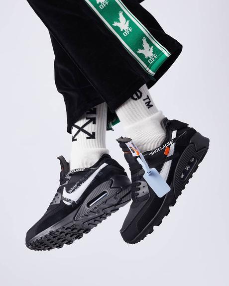 Off White Nike Air Max 90 Beige / Black : Raffle guide