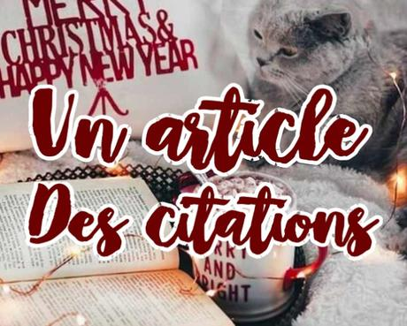 UN ARTICLE, DES CITATIONS. #6