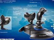 Thrustmaster plus nouveaux joysticks T.Flight Hotas Combat Skies Unknown Edition