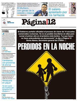 Página/12 revient sur le scandale des centres de formation [Actu]