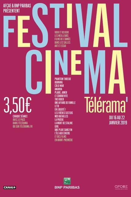 [CONCOURS] : Gagnez vos pass pour le Festival cinéma Télérama !