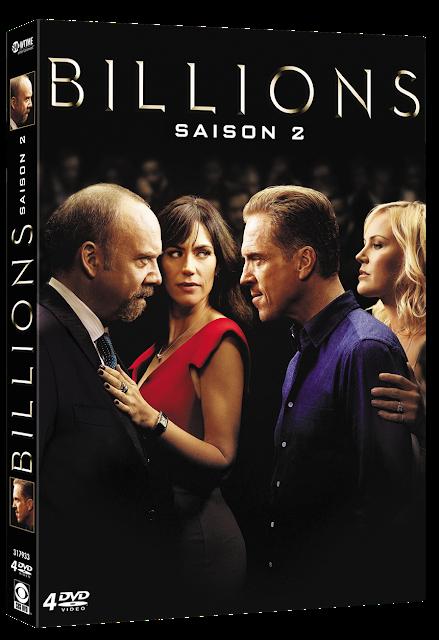 [CONCOURS] : Gagnez votre coffret 4 DVD de la seconde saison de Billions !