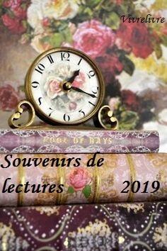 """""""Challenge Souvenirs de Lectures 2019"""" - Chez moi"""