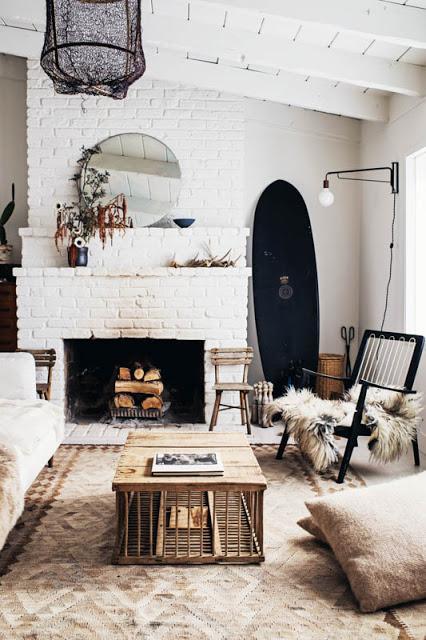 Californie / Une maison simple et chaleureuse /