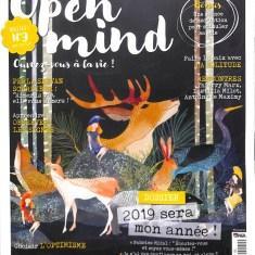 Open Mind Interview Jean- Luc Hudry sur le premier livre sur l'optimisme concret au quotidien