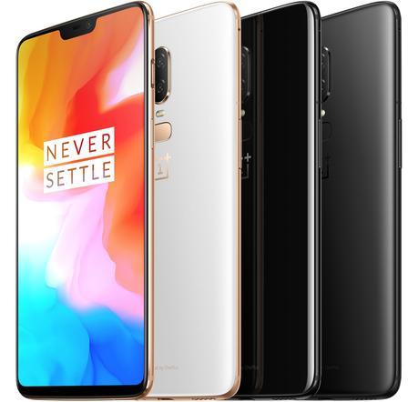 Meilleurs smartphones 2018 - OnePlus6