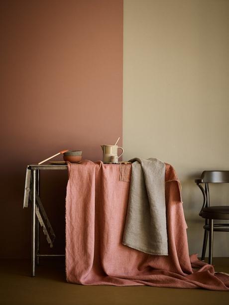 couleur terracotta rose poudre kaki association coloris blog déco clem around the corner