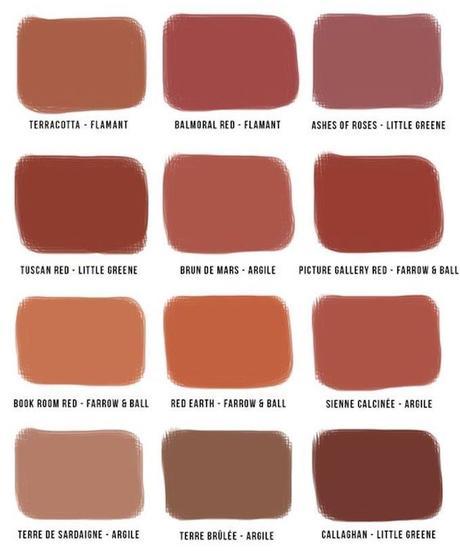 couleur terracotta blush rouge orange rose marron blog déco clem around the corner