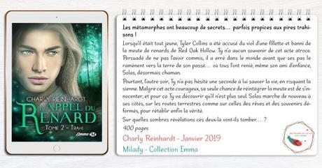L'Appel du Renard #2 – Trahi – Charly Reinhardt