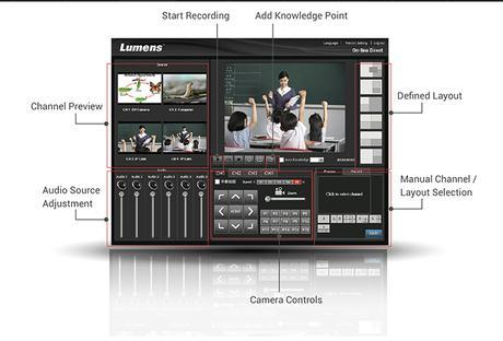 Lumens VS-LC102 : le système de capture vidéo pour l'éducation et les réunions