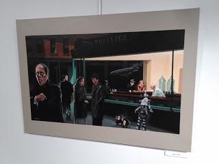 Le Phantom du Renoir expose à la Tour...